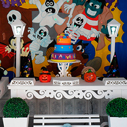 Decoracao De Festa Infantil Tema Halloween.Decoracao Halloween Para Festa
